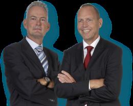 Pim Kerkhof en Dick Vink, oprichters Facility Kwadraat